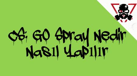 CS: GO Spray Nedir ve Nasıl Yapılır?