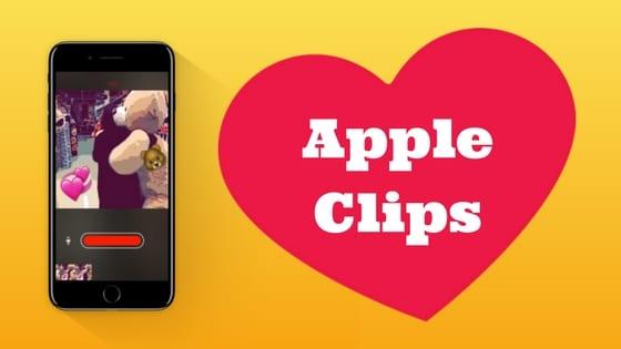 Apple clips nedir nasil kullanilir
