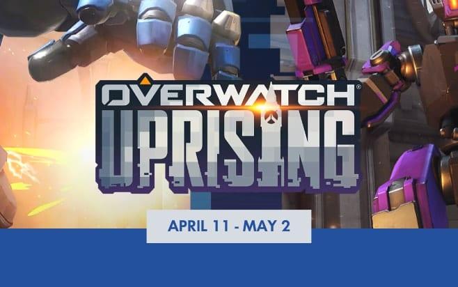 Overwatch uprising etkinligi detaylari ve skinleri
