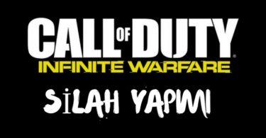 call of duty infinite warfare silah yapimi