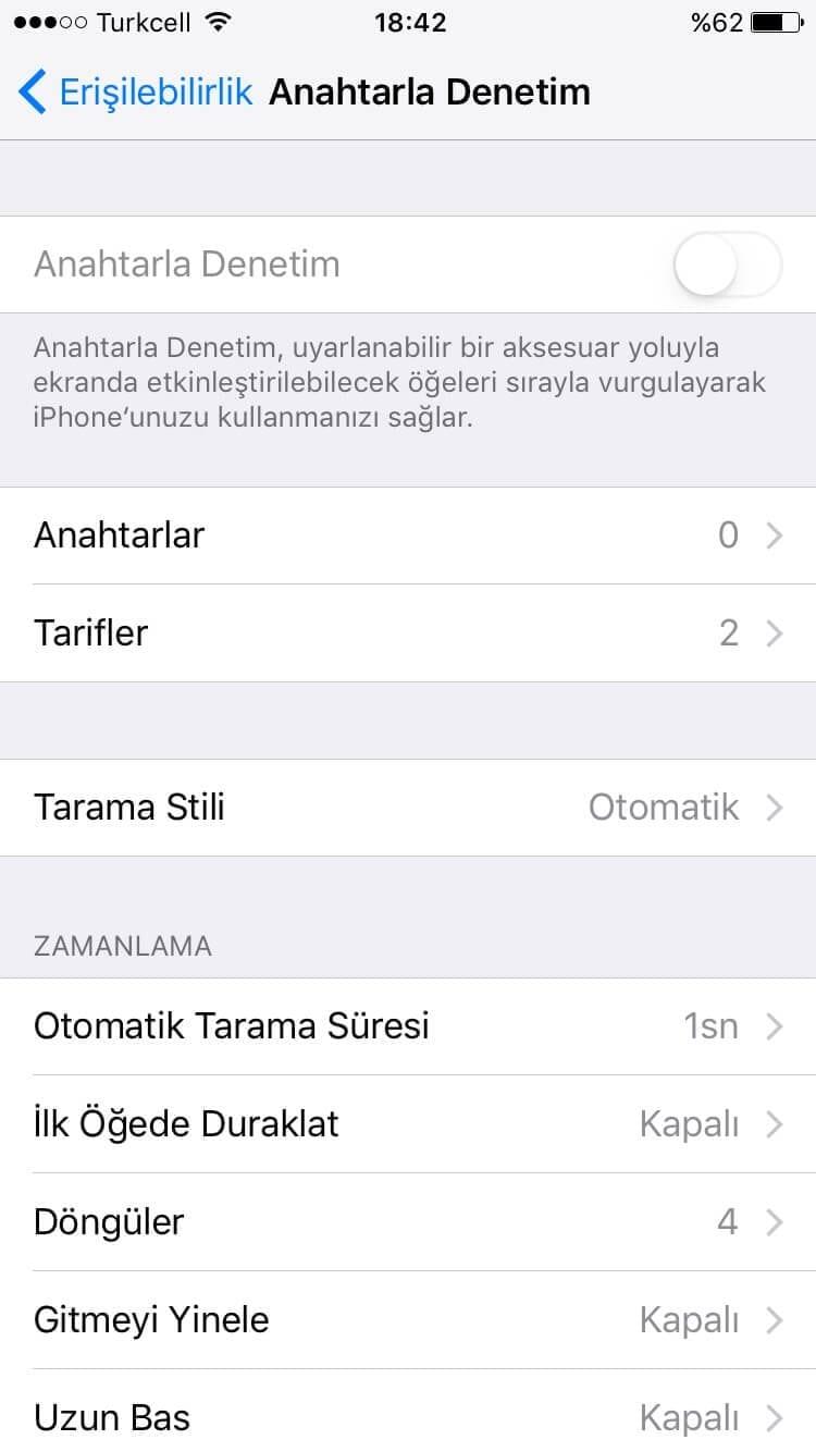 iphone bilinmeyen gizli ozellikleri