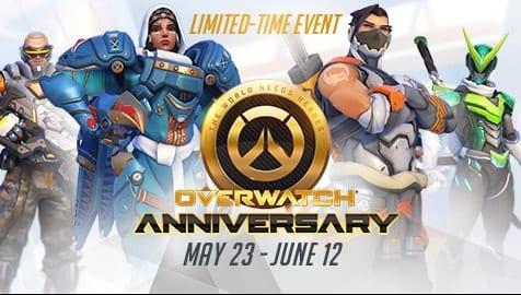 overwatch anniversary yil donumu etkinligi