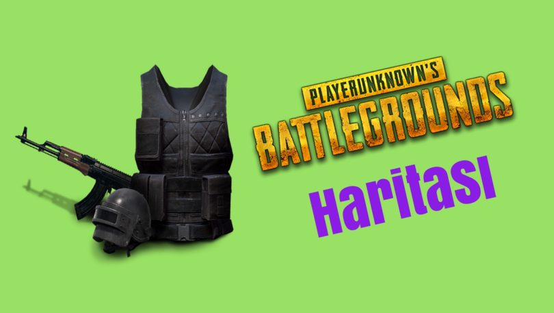 Playerunknown S Battlegrounds Maps Loot Maps Pictures: Playerunknown's Battlegrounds Malzeme Haritası (Loot Map